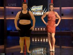 What a transformation: She lost 46.9per cent of her body weight