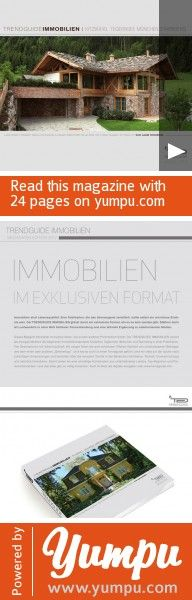 Trendguide Immobilien Media 2012 - Magazine with 24 pages: