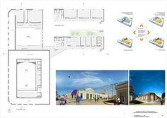 Primer Lugar Concurso Centro Educativo Cultural de la Ciudad de Diamante Lámina 2