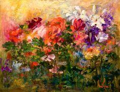 "images of nora kasten paintings | ART & SPIRIT by Artist, NORA KASTEN: ""Poppies & More"" Oil Painting by ..."