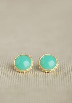 Summerton Earrings In Mint