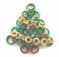 Learn a Weave - Christmas Tree - Beadsisters (I don't love this particular tree, but this has good instructions for the weave.)