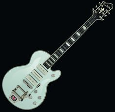 Hagstrom Tremar Super Swede P-90s Spiced Vintage White Electric Guitar... beautiful!