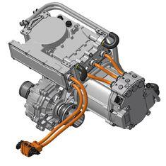 Electric Car Engine, Diy Electric Car, Electric Motor For Car, Electric Car Conversion, Electric Truck, Porsche Electric, Crate Motors, Engine Repair, Motor Car