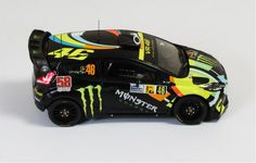 Ford Fiesta RS WRC #46 V. Rossi-C. Cassina 2nd Monza Rally 2011