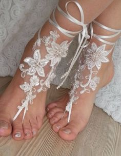 Hey, I found this really awesome Etsy listing at https://www.etsy.com/listing/230835932/beach-shoes-bridal-sandals-lariat