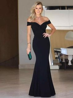 Prom Dress For Teens, Mermaid Off-the-Shoulder Long Black Satin Prom Party Dress, cheap prom dresses, beautiful dresses for prom. Best prom gowns online to make you the spotlight for special occasions. Mermaid Prom Dresses, Cheap Prom Dresses, Prom Party Dresses, Simple Dresses, Sexy Dresses, Fashion Dresses, Formal Dresses, Black Mermaid Dress, Prom Gowns