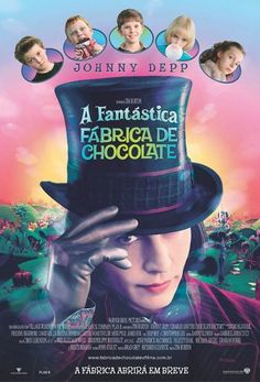 """Charlie and the Chocolate Factory"" *Family/Comedy by Roald Dahl (directed by Tim Burton)-- starring Johnny Depp, Freddie Highmore, and David Kelly Tim Burton, Streaming Movies, Hd Movies, Movies To Watch, Movies Online, Movies Free, Online Games, Love Movie, Movie Tv"