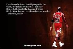 Advice from the greatest athlete of all time- listen to him