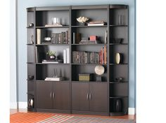 Scandinavian Designs wall shelving. Wish this came in white.