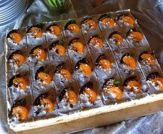 Variation v. Schokokusstorte mit Mandarinen (Blechkuchen) by Teufelchen99 on www.rezeptwelt.de
