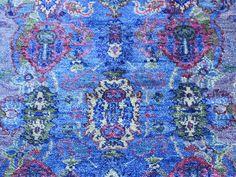 Art Silk Hand-Knotted Arts & Crafts Design Oriental Rug- Product:2-x3-1-Art-Silk-Hand-Knotted-Arts-Crafts-Design-Oriental-Rug-Sh35624