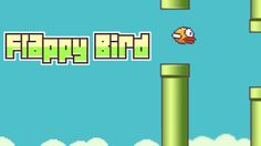 The online games were imitations and rip offs of the original app version of flappy bird. http://flappybird-online.com/