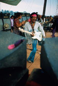 Jimi Hendrix - Woodstock - Agosto 1969.