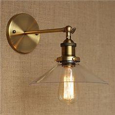 élégant Cristal applique murale avec 2 lampes en forme de bougie