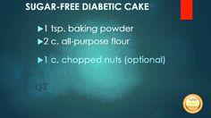 SUGARFREE DIABETIC CAKE - How To Diabetic Cake Recipes, Veggie Recipes, Cupcake Cakes, Cupcakes, Fruit Benefits, Fruits And Veggies, Sugar Free, Diabetes, Grilling