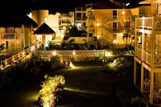 Sunscape Sabor Cozumel is even more picturesque at night!