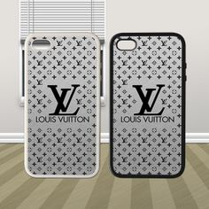 New Louis Vuitton Art Design Cool HYBRID iPhone 4 4s Silicone Rubber Case Cover - PDA Accessories