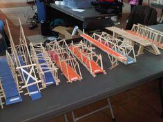 Popsicle Bridge built by Grade 3 students