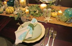 Give Your Thanksgiving Table Some Coastal Style!