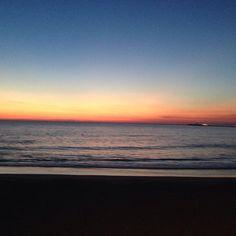 Cadice: tramonto sull'Oceano