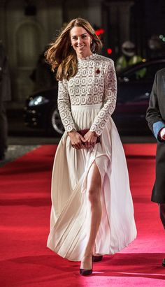 Kate Middleton'ın Zarif Prömiyer Elbisesi