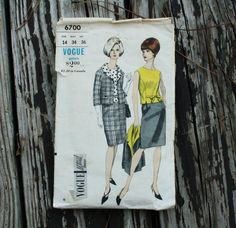 Vogue Special Design 6700 1960s 60s Jacket by EleanorMeriwether