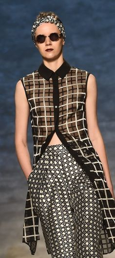 NY: Bibhu Mohapatra - Runway - Mercedes-Benz Fashion Week Spring 2015