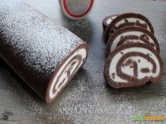 Rotolo lampo al cioccolato #ricette #food #recipes