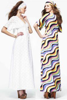 Kimono-Sleeve Maxi Caftan Dress by Nikki Poulos. #DefineMyStyle
