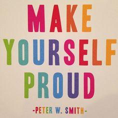 Soyez fières de vous!