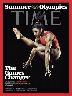 Simone Biles is a 'Game Changer' on cover of Time