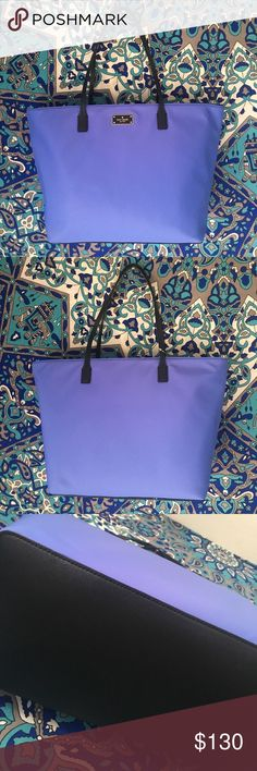 GORGEOUS NWT Kate Spade Large handbag Never used, tag and tissue paper still in bag! Beautiful adventure blue color. kate spade Bags Totes