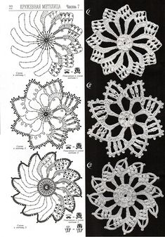 Motif with diagram Crochet edges #crochet  patterns #afs collection