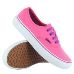 AwesomeNice Vans Authentics Pink Womens Trainers