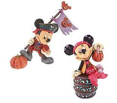 Jim Shore Disney Traditions Pirate Mickey or Minnie Disney Figurines, Collectible Figurines, Disney Traditions, Disney Addict, Cold Porcelain, Qvc, Walt Disney, Pirates, Biscuit