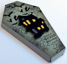 Cape Craft Crazy: Cricut - Life's a Party - Halloween Coffin (larger)