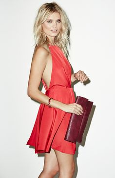 put your red dress on.