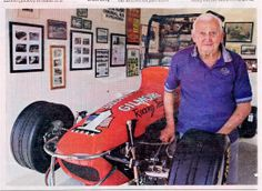Foyt Gilmore midget - Auto Racing Memories | Vintage Race Cars