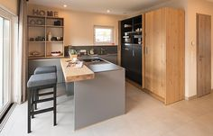 Moderne Küchen sind für alle Generationen
