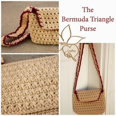 MNE Crafts: The Bermuda Triangle Purse