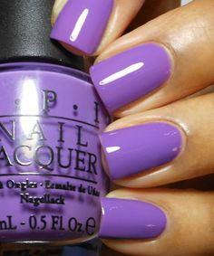 ".:* L - Enamel Girl: OPI Ulta Exclusives Summer 2012 Swatches and Review [OPI @ Ulta: ""Pack Your Booty Shorts.  Medium purple creme. It reminds me of Grape Pop but its not as dark. The formula is also a little on the thin side. I used 3 coats here.""]"