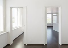 Unilateral frame allows two opposite doors to slide into the same pocket. It requires only a single frame's overall dimension, but it hosts two parallel doors going in opposite directions. It is ideal when you have two parallel doors and a short wall