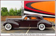 1940 Packard Super 8 180 Sport Sedan by Darrin | Flickr - Photo Sharing!