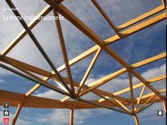 La ferme tridimensionnelle en charpente - Projet LILÔ