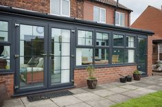 Image result for coloured conservatories