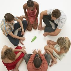 Kids Playing truth or dare game