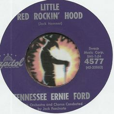 TENNESSEE ERNIE FORD Little Red Rockin Hood ROCKABILLY COUNTRY BOPPER 45 RPM JOIN ME ON FACEBOOK:  https://www.facebook.com/#!/groups/173196599474213/