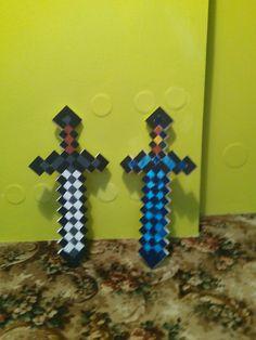Minecraft sword wood