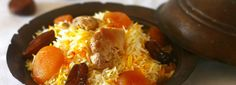 Fisinjan Pilaf (Pilaf with Meat and Walnuts)